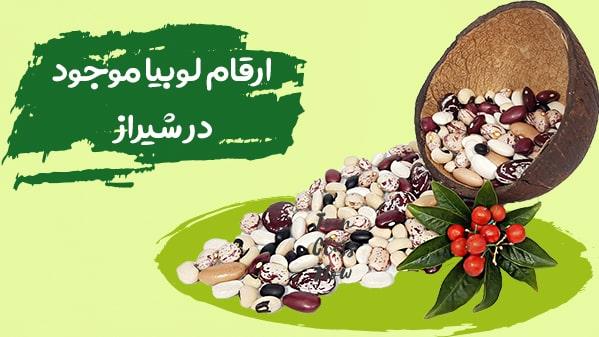 قیمت روز انواع لوبیا