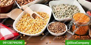 قیمت عمده ی انواع حبوبات ایرانی