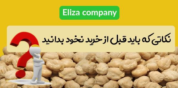 انواع نخود در کرمانشاه